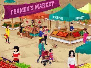 Farmári verzus supermarkety