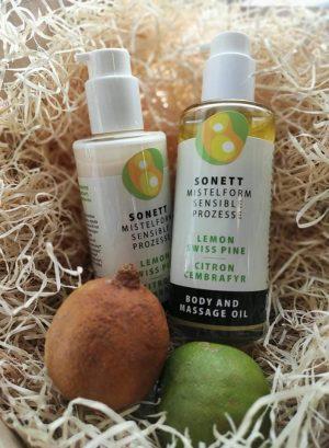 Prírodný telový a masážny olej